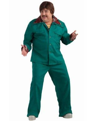 70's Green Leisure Suit - Plus Size Costume