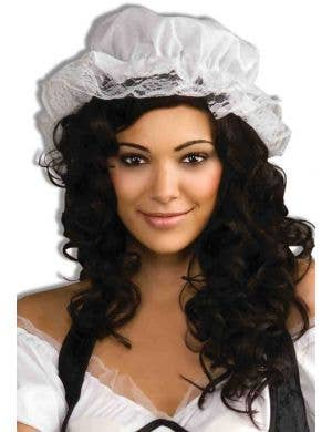 Bar Maid Medieval Renaissance Women's Costume Hat