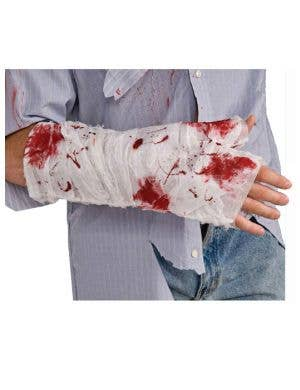 Bloody Arm Bandage Halloween Accessory