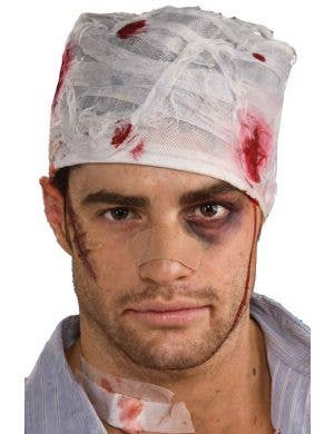 Bloody Head Bandage Cap