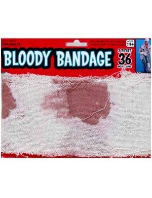 Bloody Bandage Halloween Costume Accessory