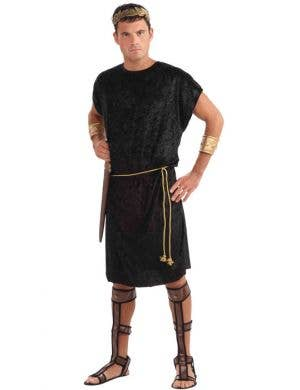 Basic Men's Black Fancy Dress Costume Tunic