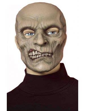 Snarling Zombie Corpse Halloween Mask