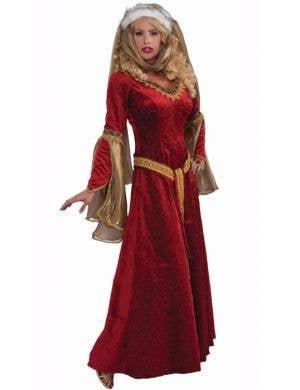 Scarlet Renaissance Deluxe Women's Costume