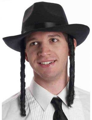 Jewish Religious Costume Rabbi Hat