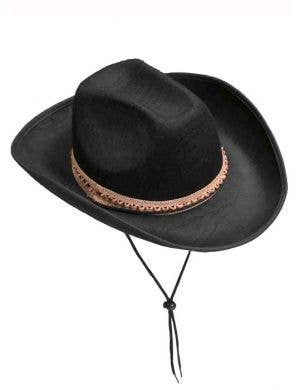 Black Feltex Wild West Cowboy Hat
