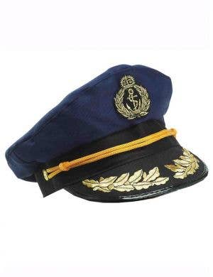 Sailor Captain Hat - Navy