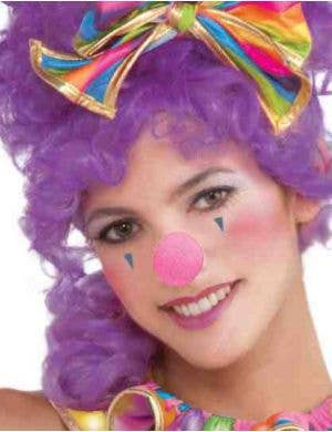 Circus Sweetie Pink Clown Nose