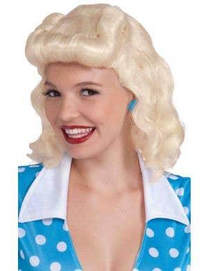 Retro Women's 1940's Wig - Blonde