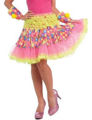 Circus Sweetie Rainbow Ruffled Skirt