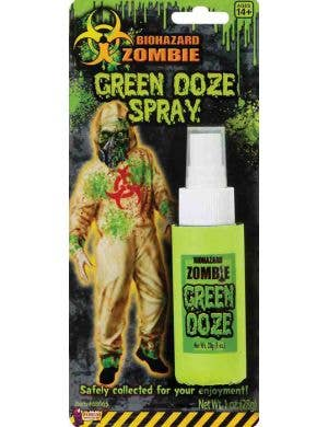 Biohazard Zombie Green Ooze Spray