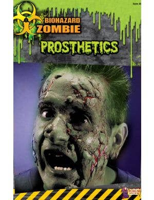 Biohazard Zombie Mutant Face Prosthetic - READ CAREFULLY!