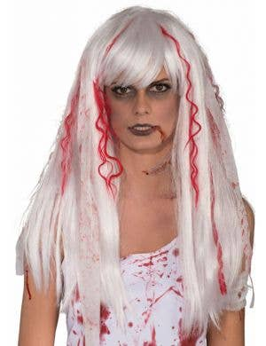 Blood Splattered Women's Zombie Wig