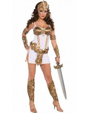 Warrior Woman Deluxe Gladiator Costume