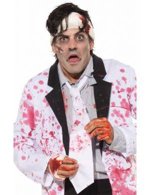 Blood Splattered Adults Zombie Tie