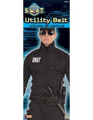 SWAT Utility Belt Costume Accessory