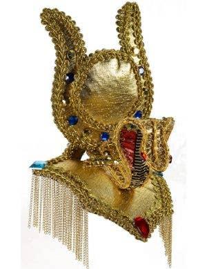 Cleopatra Egyptian Gold Costume Headpiece