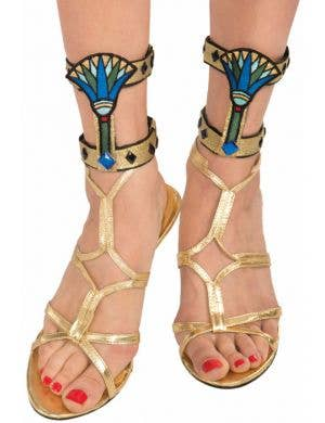 Cleopatra Egyptian Ankle Cuffs