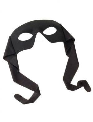 Zorro Men's Half Face Costume Mask