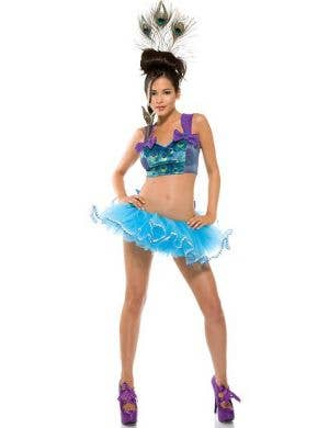 Fab Feathers Sexy Women's Peacock Costume