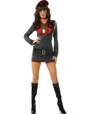 Danger Zone Women's Military Costume