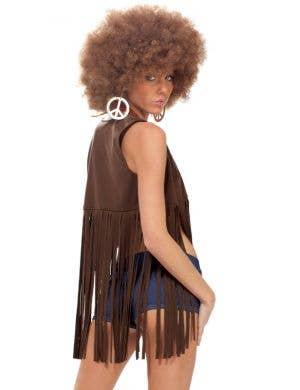 Women's Sexy Retro Hippie Costume Front View