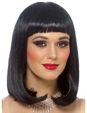 Peggy Sue Women's Black Bob Cut Costume Wig