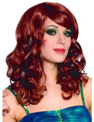 Lolita Women's Curly Natural Red Costume Wig