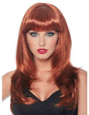 Donna Natural Red Women's Costume Wig