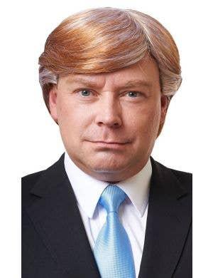 Mr CEO Men's Honey Blonde Donald Trump Costume Wig