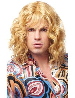Model Dude Men's Wavy Blonde Costume Wig