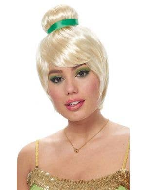 Tinkerbell Pixie Fairy Women's Blonde Costume Wig