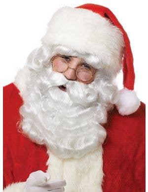 Curly White Santa Claus Wig and Beard Set