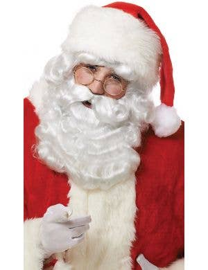 Curly White Santa Claus Wig and Beard Set