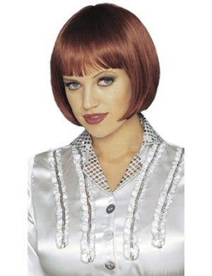Sassy Short Natural Red Bob Women's Costume Wig