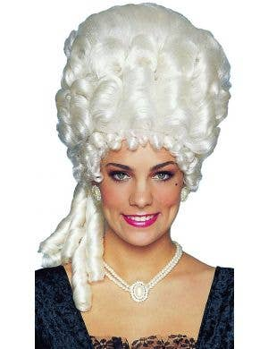 Marie Antoinette Platinum Blonde Women's Costume Wig