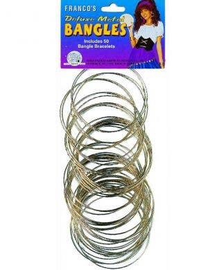 Gold Metal Deluxe Fortuneteller Bracelets Front View