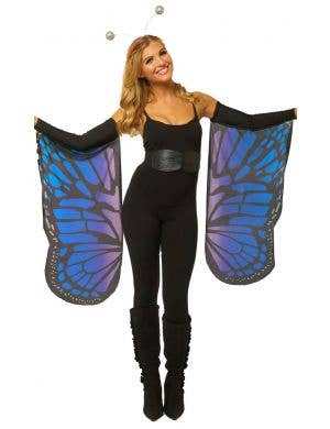 Monarch Butterfly Purple and Blue Costume Wings