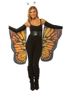 Monarch Butterfly Orange Costume Wings