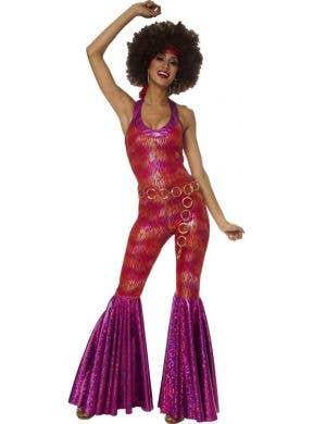 80d82856ee 1970 s Foxy Lady Women s Fancy Dress Costume ...