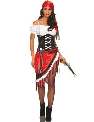 Pirate Vixen Sexy Women's Fancy Dress Costume