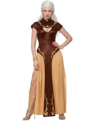 Women's Game Of Thrones Khaleesi Costume Front View