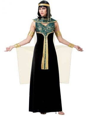 Glamorous Women's Egyptian Cleopatra Costume Main Image
