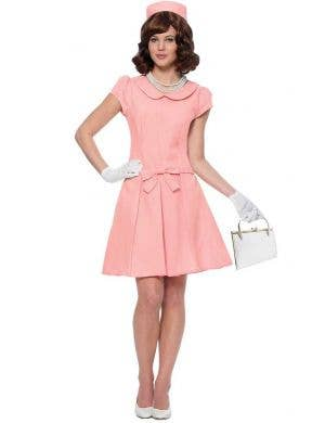 Women's American First Lady Jackie Kennedy Costume Main Image