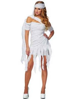 Women's Egyptian Mummy Costume Front View