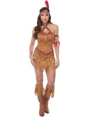 Native American Princess Women's Fancy Dress Costume