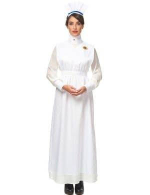 1800's Vintage Nurse Women's Fancy Dress Costume