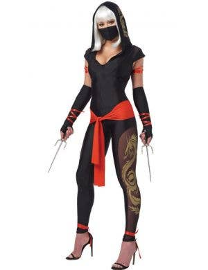 Japanese Ninja Warrior Sexy Women's Costume