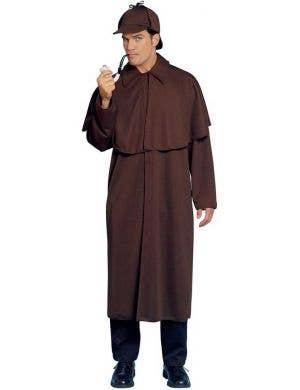Men's Detective Fancy Dress Costume Front View
