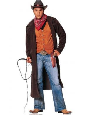 Wild West Gunslinger Men's Cowboy Costume